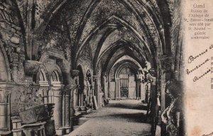 Ruines de l'Abbaye de St Bavon,Gand,Belgium BIN