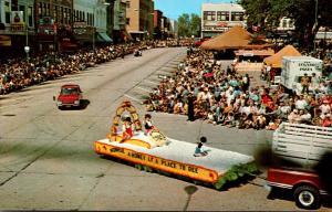 Wisconsin Monroe Baumgartner's Cheese Day Parade Float