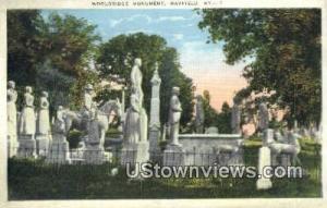 Wooldridge Monuments Mayfield KY Unused