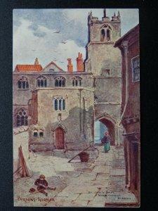 Norfolk NORWICH St. Johns Alley MADDERMARKET Artist Parson Norman c1904 Postcard