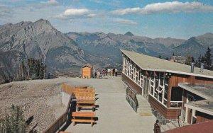 BANFF, Alberta, Canada, 1950-1960s; Summit Tea House Atop Sulphur Mountain