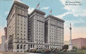 Saint Francis Hotel San Francisco Calfornia
