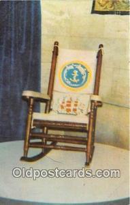 Postcard John F Kennedy's Rocking Chair