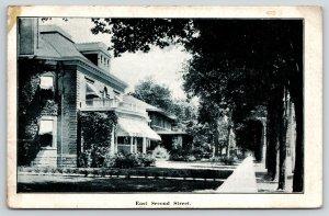 Mishawaka Indiana~East Second Street Mansion Homes~Ganzer Grocer Pub~1912 B&W