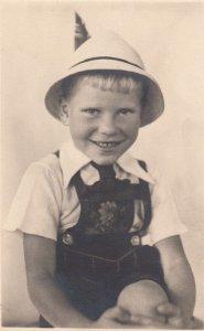 RP: Boy in Leder-Hosen , 1910s
