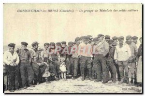 COPY Grand Camp Calvados Sailors Bains A group of small trades