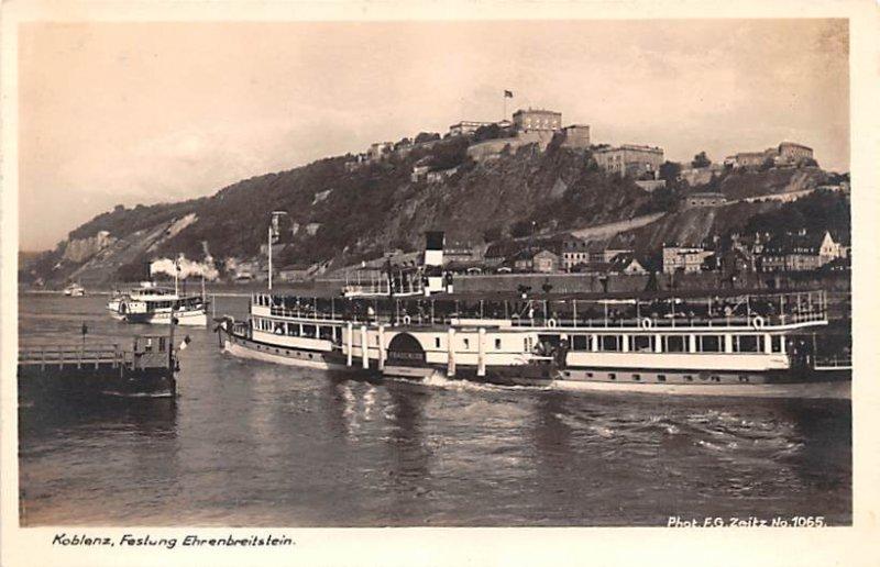 Feslung Ehrenbreitstein Koblenz Germany Unused
