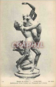 Old Postcard Musee Cluny Alabaster Removal of Sabine Flemish art (XVIth Century)