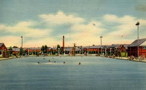 SC - Parris Island Marine Barracks. Swimming Pool