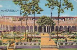Florida Sarasota Main Court Ringling Museum Of Art 1938