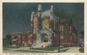 DECATUR, Illinois, 1900-10s; Westminster Presbyterian Church