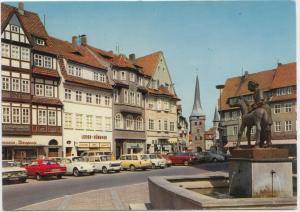 Duderstadt. Markt, Postcard