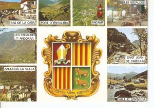 Postal 042410 : valls dAndorra. Bonics paisatjes Andorrans