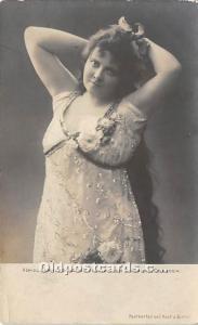 Konigl Kammersancgerin Fraulein Von Chavanne, Dresden Theater Actor / Actress...