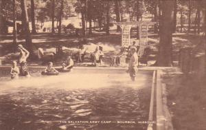 Swimming Pool The Salvation Army Camp Bourbon Missouri Artvue