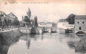 Audenarde Belgium, Belgique, Belgie, Belgien L'Eglise ND de Pameie Vue sur l'...