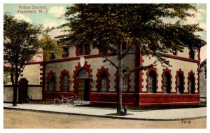 New Jersey Plainfield   Police Station