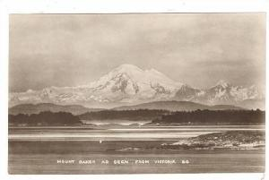RP, Mount Baker As Seen From Victoria, British Columbia, Canada, 1920-1940s