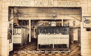 Indianapolis IN Fox's Jail House Restaurant Telephone Kellogg's Cereal RPP