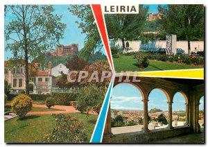 Postcard Modern Leiria Portugal
