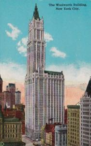 New York City The Woolworth Building