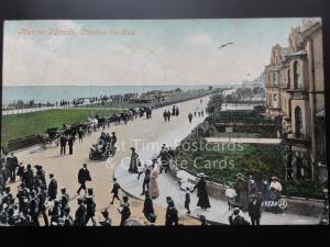 Essex: Clacton on Sea, Marine Parade c1906
