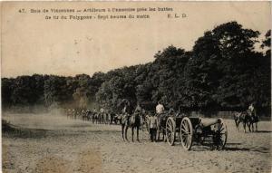 CPA PARIS 12e Bois de Vincennes Artilleurs a l'exercice (672580)