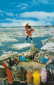 Alaska Alaskan Eskimos Blanket Tossing