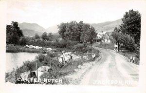 LPS87 Jackson New Hampshire Carter Notch Postcard RPPC