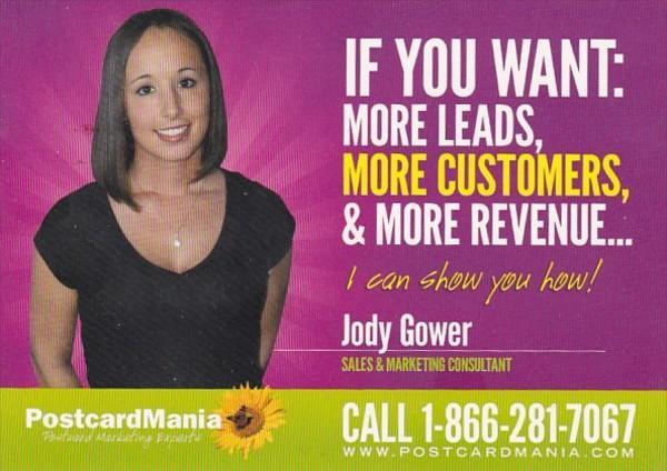 Advertising PostcardMania Clearwater Florida