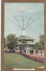 WILLOW GROVE Amusement Park , Pa, 1900-10s ; Airships