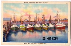Shrimp Boats, St Augustine FL