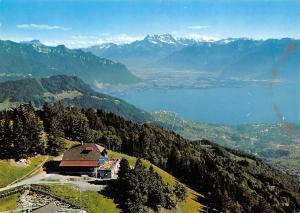 Switzerland Les Pleiades sur Vevey Vue sur Clarens Montreux Lac Leman