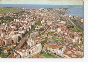 Postal 023684 : Vista aerea Santander