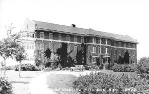 Mitchell South Dakota ME Hospital Real Photo Antique Postcard K29053