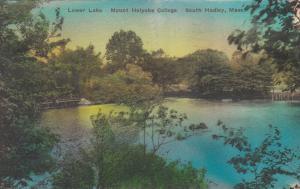 SOUTH HADLEY , Massachusetts , 1930s ; Lower Lake, Mt. Holyoke College