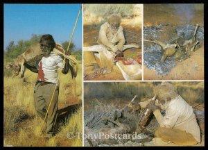 Traditional Kangaroo Hunting and Cooking