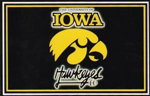 Iowa Iowa City University Of Iowa Hawkeye