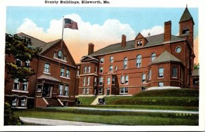 Maine Ellsworth County Buildings