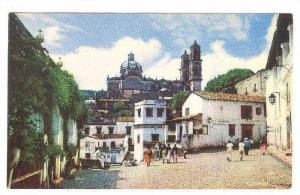 Vista De La Catedral De Santa Prisca, Taxco, Gro.,  Mexico, 40-60s