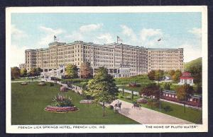French Lick Springs Hotel French Lick Indiana used c1917