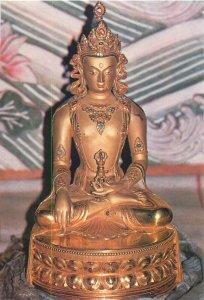 Mongolia Aksobhya Buddhism Art Museum Ulan Bator postcard