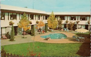 Sidney BC Travelodge Victoria Airport Beacon Ave Unused Vintage Postcard G60