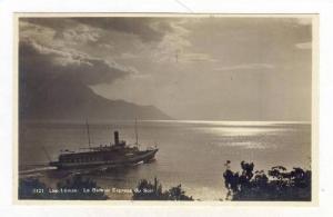 RP, Le Bateau Express Du Soir, La Leman, Switzerland, 1920-1940s