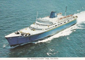 Car Ferry PRINCESS OF ACADIA , St John N.B. to Digby N.S. , Canada , 50-70s