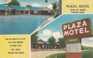 RAPID CITY , South Dakota;  30-40s ; Plaza Motel