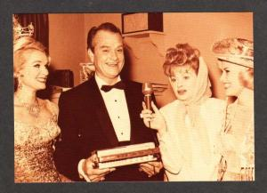 NV Comedians Red Skelton & Lucille Ball LAS VEGAS NEVADA Postcard Comedy PC