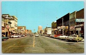 Escanaba Michigan~Ludington Street~Elias Big Boy~The Fair~Surplus~1960s Cars