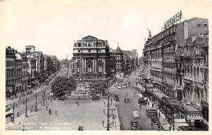 Belgium Bruxelles Place de Brouckere, Brussel de Brouckere plaats, Square