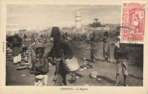 CPA Djibouti Afrique - La Magalla (86975)